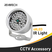 Waterproof 48 LED Illuminator Light Night Vision CCTV IR Infrared For Surveillance CCTV Camera(China)