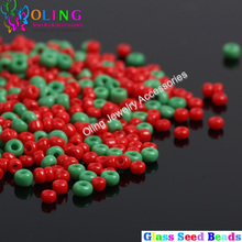 2MM Czech AAA Christmas opaque Green/Red Glass Seed beads 1600pcs Spacer Bead earrings Bracelet choker necklace jewelry making