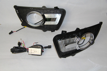 DRL For KIA Sportage 2008 2009 2010 2011 2012 2013 Daytime Running Lights Fog head Lamp cover car styling