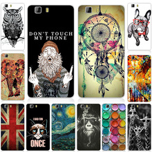 Fashion Cool Design Case For Doogee X5 X 5 Soft Silicone TPU Perfect  Pattern Back Cover For Doogee X5 Pro Phone Cases