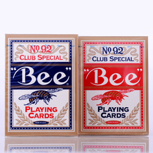 1 Deck Original Bee Playing Cards NO.92 Club Special Poker Ohio 2009 Magic Playing Card Mgaic Tricks Magic Prop
