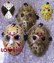 New Cosplay Delicated Make Old Smoked Eye Jason Voorhees Festival Party Halloween Masquerade Mask - 5 Types