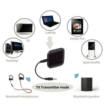 Q16 Wireless Bluetooth Audio Transmitter Audio Player 3.5mm Wireless Adapter Bluetooth 4.1 For Smart Phone MP3 PC TV