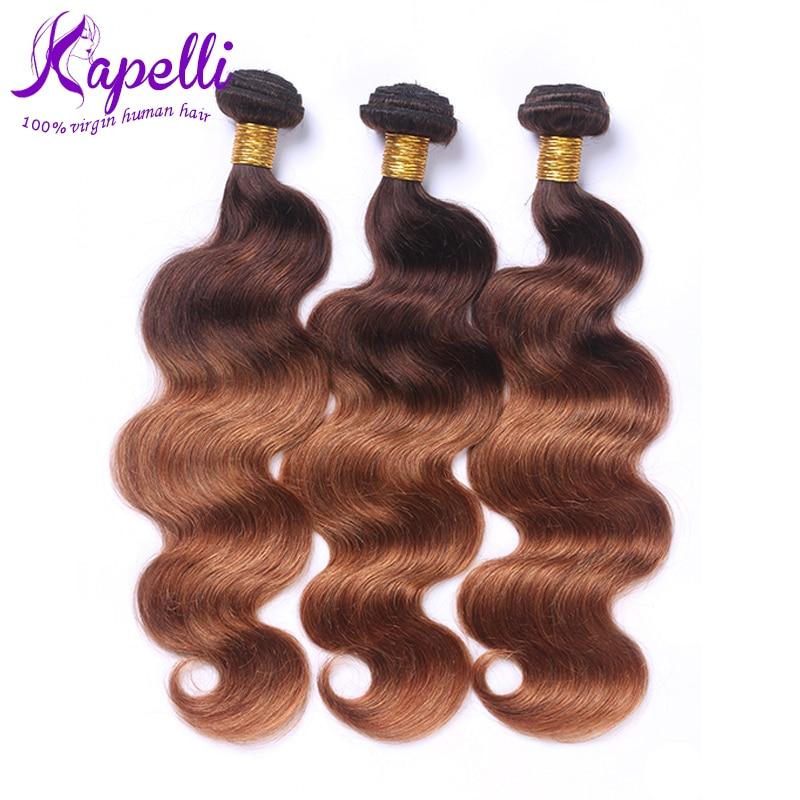 Hot Sale 8A Brazilian Virgin Hair Body Wave Ombre Brazilian Hair 3 Bundles Brazilian Hair Weave Bundles Brazilian Body Wave hair<br><br>Aliexpress