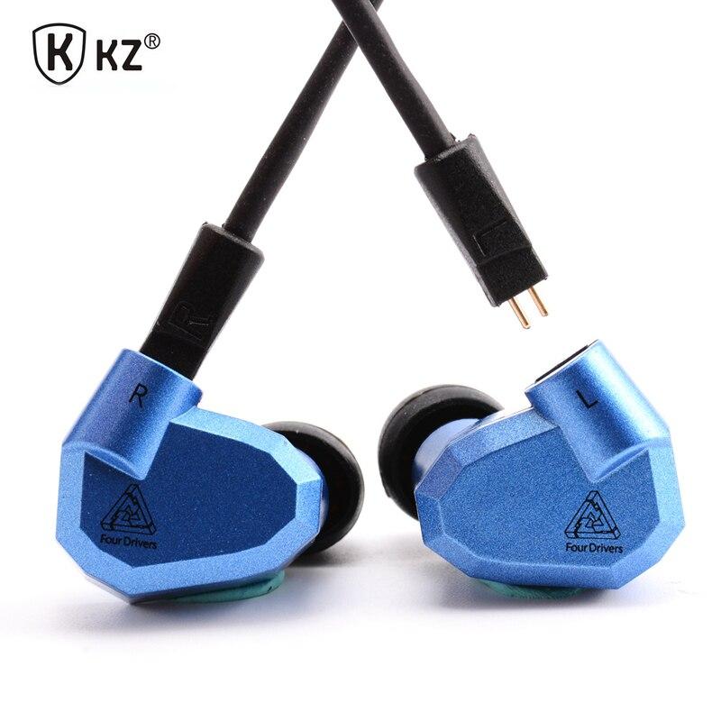 Original New Hot KZ ZS5 2DD+2BA Hybrid In Ear Earphone HIFI DJ Monito Running Sport KZ ZST Earphones Earplug Headset Earbud<br>