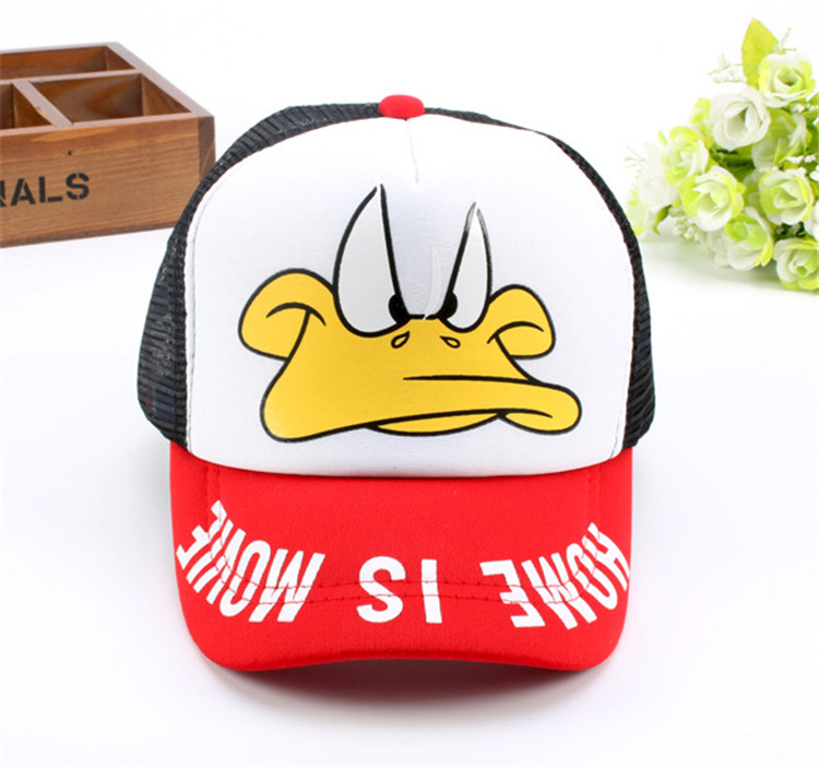 Summer Mesh Baseball Cap 3-10year Kids Snapback Children Trucker Hat for Girl Boy Casual Casquette Baby Hats F143