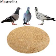 Misterolina Dehumidification Grass Bird Nest Racing Pigeon Breeding Eggs Mat Bird Basin Nest For Bird Grass Mat ZJQ9346(China)