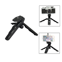 "Mini Tripod Table Stand w/ Tilt Head Foldable Handheld Grip with 1/4"" Screw for GoPro Xiao mi Yi Sj5000 Sport Camera Camcorder"
