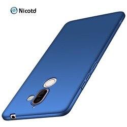 Жесткий матовый пластиковый чехол для Nokia 6.1 4.2 3.2 3.1 5.1 7.1 8