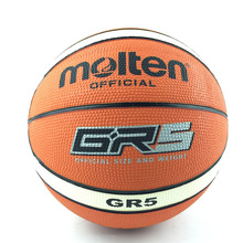 Teenagers Molten Basketball Ball GR5-LH Outdoor Indoor Training Size 5 Basketball Ball With Ball Net+Needle(China)