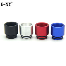 E-XY Aluminum Metal Colors 810 Drip Tips Electronic Cigarette wide bore Mouthpiece For RDA RBA RDTA RTA Tank atomizer(China)
