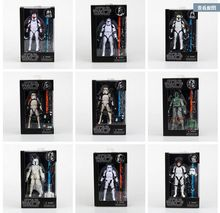 6 Inch Star Wars Serie  Stormtrooper/ White Snow Trooper/ Han Solo/ Boba Fett/ Clone Trooper China Agent Version Action Figure