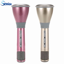 Hot Sales K068 Wireless Microphone microfone with Mic Speaker Condenser Mini Karaoke Player KTV Singing Record for Smart Phones