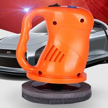 New (Orange) Mini Waxing Machine Electric Car Polishing Machine Car Gloss 12v Car Paint Repair Polisher for Car Scratch Remover(China)