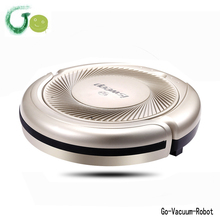 S5 golden lithium battery smart vacuum cleaner robot low noise large clean cloth mop robot for home,office,hotel clean machine(China)