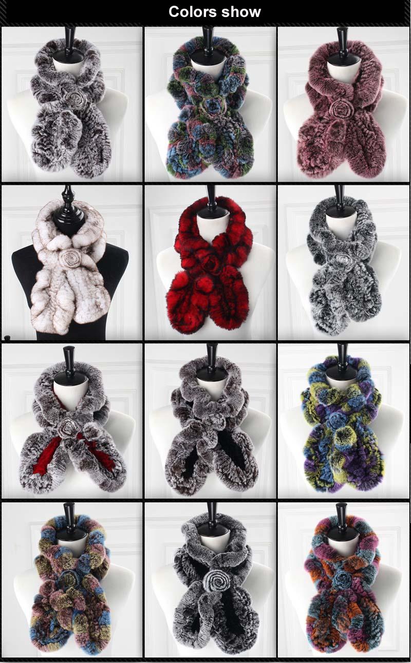 rex wavy scarves colors show