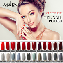 UV Nail Gel Polish Manicure Nails Gel Professional Uv Lamp Soak Off LED Nail Polish Color Red Gray Top Base Coat Nail Gel