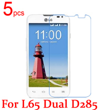 Buy 5pcs Ultra Clear/Matte/Nano anti-Explosion LCD Screen Protector Film Cover LG L65 Dual D285 D280 Protective Film + cloth for $1.21 in AliExpress store