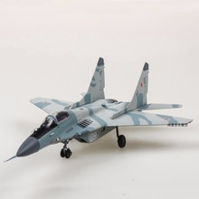 New WITTY 1/72 Scale Plane Model Toys BBC Mikoyan MiG-29 Fighter Diecast Metal Plane Model Toy For Collection/Gift