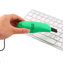 in stock ! Protable Mini USB Vacuum Keyboard Cleaner Dust Collector LAPTOP(China)