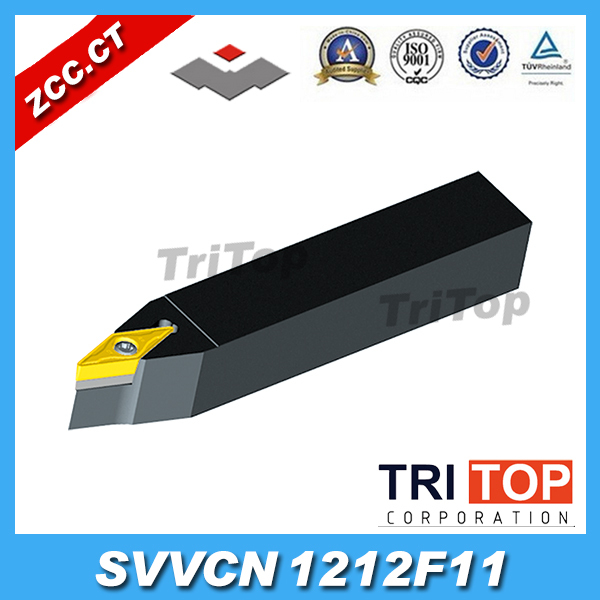 ZCC.CT Metal Lathe Cutting Tools SVVCN1212F11 S Hole clamping tool holders External turning tools CNC Lathe Tool Holder<br>