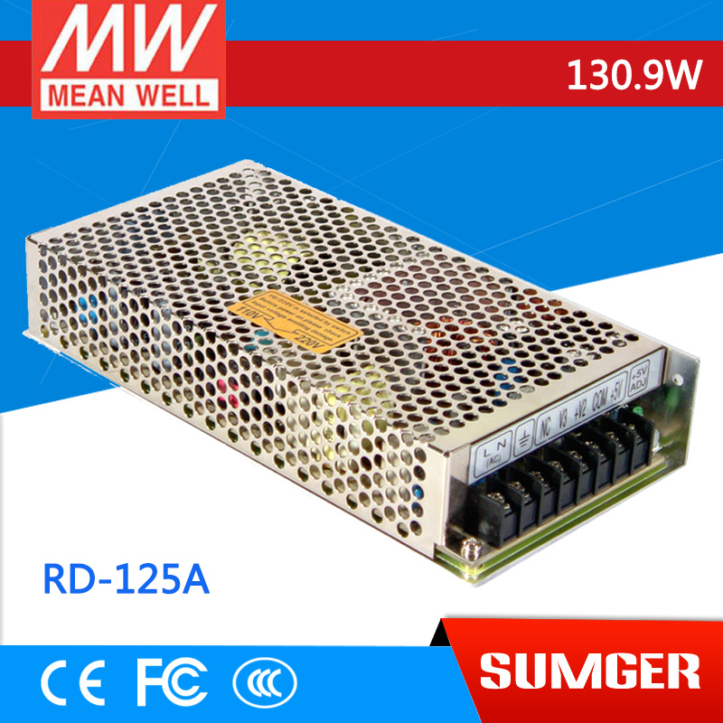 [MEAN WELL] original RD-125A meanwell RD-125 130.9W Dual Output Switching Power Supply<br>