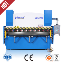 HARSLE Press Brake with ESTUN system acrylic plate sheet bending machine WC67k-40/2500(China)