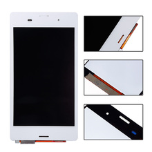 5 inch white Black For Sony for Xperia Z3 D6603 D6643 D6653 LCD Touch Screen with Digitizer full assembly replacement parts