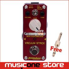 New AROMA AVS-3 VACUUM STACK Valve Stack Simulator Distortion Mini Analogue Effect True Bypass+Free Connector