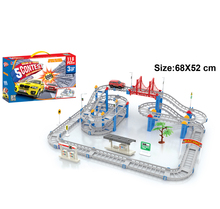 118 Pcs Set Electric Railcar Thomas Assembled Track Gift for Kids