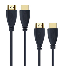 High-Speed HDMI Cable 1m 2m 3m 5m Gold-Plated, Supports Ethernet, 3D, 4K and Audio Return and all other available HDMI functions(China)