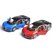 Original Maisto Alloy Diecast Car Model Bugatti Chiron Sports Car 1/24 Static vehicle Toys for Children Gifts Collections