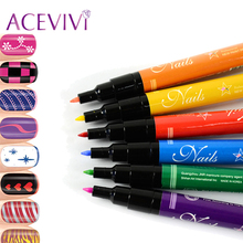 ACEVIVI 1PCS 2017 New Fashion Nail Art Pen Painting Design Nail Tools Drawing Gel Made Easy Nail Beauty Accessories Hight Qualit(China)