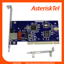 Asterisk Card E1 card TE110P with 1 T1/E1 Port, ISDN PRI PCI Board For PBX IP Phone Solution digium card,Asterisk T1 card(China)