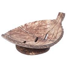 1 unid creativo madera Natural hecho a mano jabón de baño caja contenedor  de cocina almacenamiento jabonera hoja 927ac27b4968