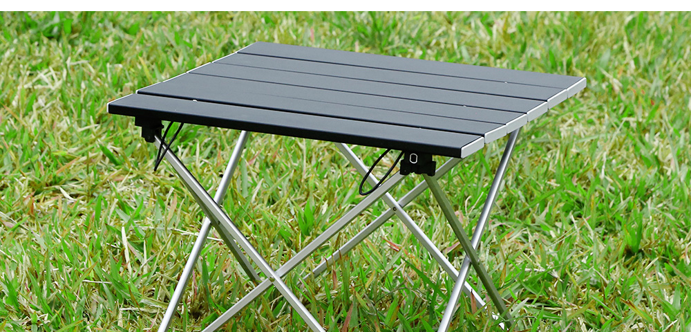 Outlife Lightweight Outdoor BBQ Camping Picnic Aluminum Alloy Folding Table