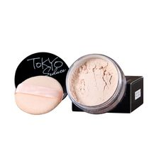 Make Loose Finish Powder Matte Bare Face Whitening Skin Finishing Transparent Powder Palette SPF 25 With Cosmetic Puff Pastry(China)