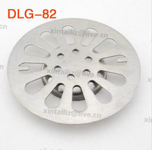 [DLG-82]high quality 82MM stainless steel foor drain cover hair anti-blocking bathroom fitting leaking cover