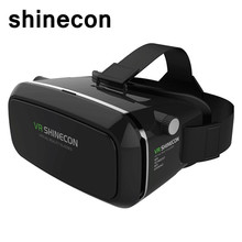 SHINECON Virtual Reality Immersive Glasses Headset Multifunction For 3D Videos Movies Games 4.7-6.0 inch Android and IOS(China)