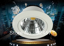 Factory Wholesale Dimmable 30W/25w/15w/12w New Very Bright LED COB chip downlight Recessed LED bulb light Spot Light Lamp