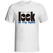 Funny Design Look In My Eyes Short Sleeve Tshirts 3d Printed T-Shirts Boys Fashion Cool T Shirt DropShipping Clothes