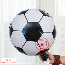 balloon football round balloons toys ballon globos helium foil birthday party decoration supplies kids baby football balloons