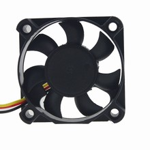 10pcs Gdstime New DC 5010 50*50*10 12V 3Pin 50mm 5cm Industrial Cooling Fan