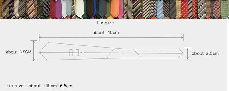 cotton tie size
