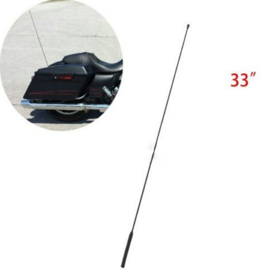 AM FM Antenna For Harley Tour Road Street Electra Glide 86-15 2014 Radio Rubber<br>