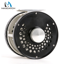Maximumcatch Classic Fly Fishing Reel Clicker Disc Drag System CNC Machine Cut T6061 Aluminum Fly Reel