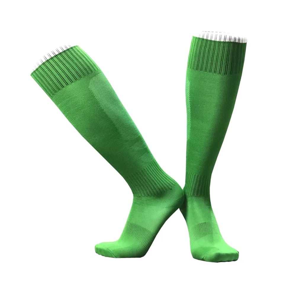 17 sport socks football soccer socks Cycling running men kids boys long towel socks basketball sox medias de futbol non-slip 8