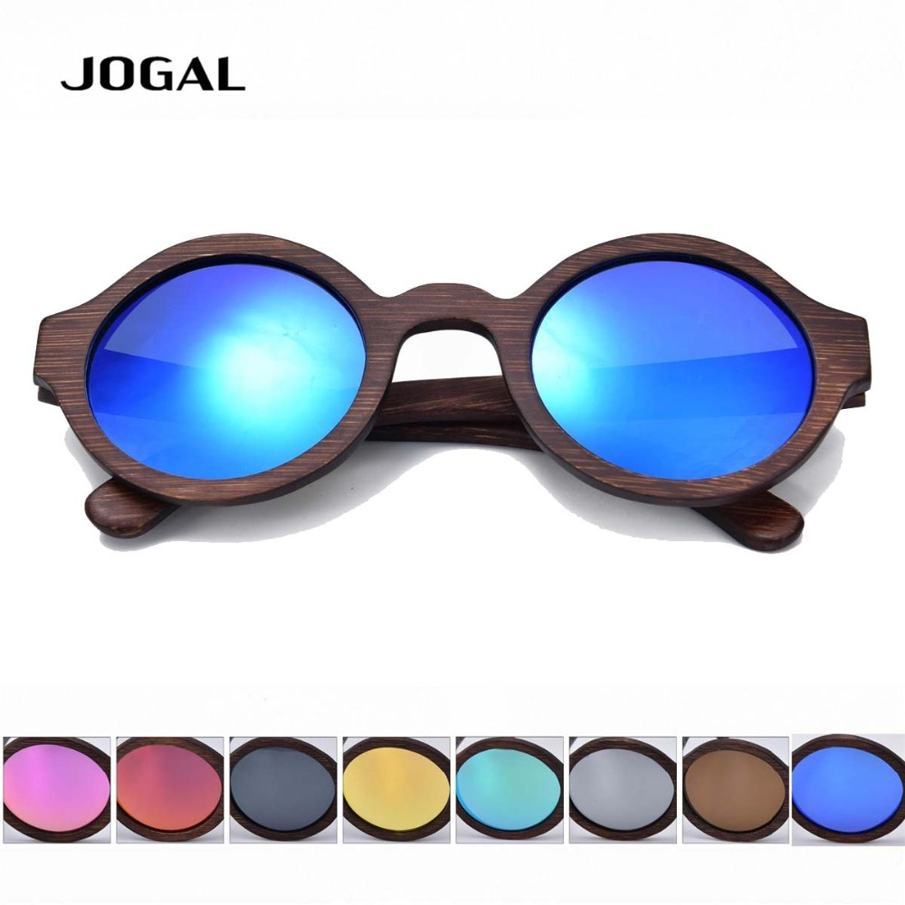 Men Women Brown Frame Glass Bamboo Polarized Sunglasses Retro Vintage Wood Round Lens Wooden Frame Handmade Free Shipping S023<br><br>Aliexpress