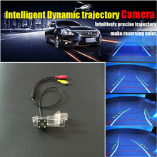 HD CCD Auto Rear view Camera / Car Intelligent Dynamic Trajectory Backup Camera For Dacia Lodgy / For Renault Lodgy 2012~2016