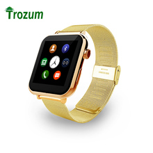 TROZUM Metal strap A9 smart watch heart rate measuring synchronous camera intelligent Bluetooth phone pedometer foreign trade